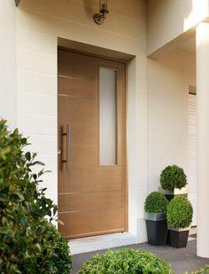 Porte d 39 entr e ma a en acier qui apportera un style for Lapeyre porte d entree bois