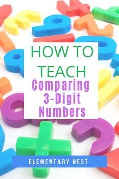Learn more about teaching comparing 3-digit numbers in this 2nd grade math unit. There are anchor charts, activities, assessments and technology ideas to help students learn how to compare numbers using symbols and place value. Place Value Activities, Number Sense Activities, Math Activities, Teaching Second Grade, Second Grade Math, Teaching Jobs, Student Teaching, Number Anchor Charts, Teaching Place Values