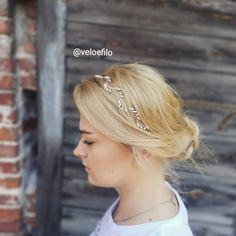 Tulip Wedding, Wedding Hair Accessories, Tulips, Wedding Hairstyles, Wedding Bands, Earrings, Silver, Jewelry, Fashion