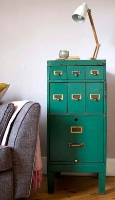 Re-use an office cabinet