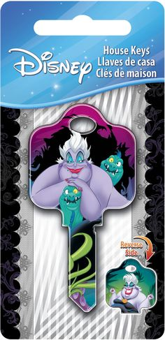 Disney Villains - Ursula Keys On The Hillman Group
