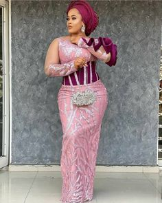 aso ebi - 20 Pictures: Wedding Styles For African Woman – Aso ebi Styles 2021 - photo