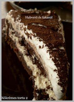 Habverő és fakanál: Diókrémes torta 2