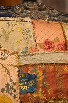 Silk and LInen Patchwork at Carol Hicks Bolton-Amy Boland Photography