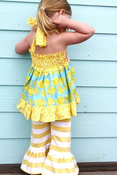 Ruffle pants!! So cute...wonder if 33 can wear this?