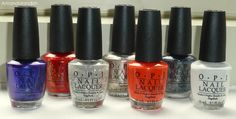 @OPI Products, Inc. @OPI Nails UK Red, White, and Blue bonanza for the Fourth of July | Amandalandish
