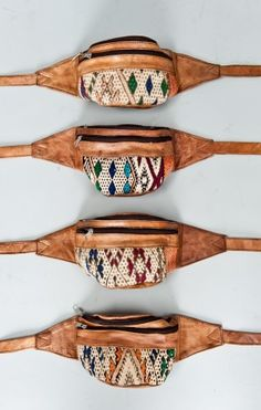 Guatemalan Fanny Packs. First fanny pack I'd wear since the 90's!