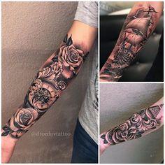 Small set ⏳⚓️ #vladimirdrozdov#drozdovtattoo#tattooinstartmag#tattoostyle#chicano#tattooart#blackandgrey#california#tattoolife#inkkaddicted#inkdollz#tattooed#style#sleevetattoo#miami#IntenzePride#tattoozlife#instatattoo#sullen#tattoos#goodfellastattio#ink_life#inkeeze#lifestyletattoo#worldtattoo#tattoos_of_instagram#inkjunkeyz#ru_tattoo#inknationofficial