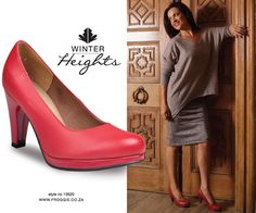 Froggie shoes | red shoes | womens shoes | feminine | froggie loves your feet