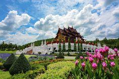 Beautiful Flowers Garden, Beautiful Gardens, Fine Art Photo, Photo Art, Royal Pavilion, Next Garden, Royal Park, Northern Thailand, Wild Nature