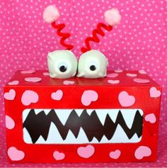 Valentine Monster Box by Giggles Galore