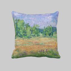 #Russian #Meadow #pillow by Alexandra Cook aka #linandara
