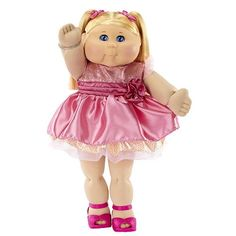 FAO Exclusive Cabbage Patch Doll Anniversary 20 inch Collector Kid - Girl, Blond, Blue Eyes in Dolls. Cabbage Patch Kids, Baby Doll Toys, Toddler Toys, Barbie Doll House, Barbie Dolls, Santa Outfit, Unique Faces, Asian Babies, Kids Store