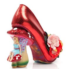 Ladies Irregular Choice Ember Starwand Fairy Tale Evening Mid Heels All Sizes Creative Shoes, Unique Shoes, Crazy Shoes, Me Too Shoes, Women's Shoes, Funny Shoes, Irregular Choice Shoes, Disney Inspired Fashion, Disney Shoes