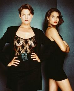"Carey Lowell & Talisa Soto in ""James Bond: License To Kill"" (1989)"