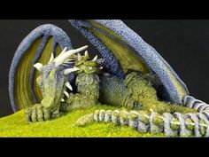 Dragon Sculpture - Sculpting in Polymer Clay Tutorial - YouTube