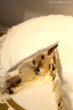 Cookie Dough Ice Cream Cake #Recipe #Summer