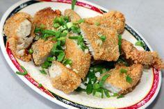 mackerel nuggets #Taiwan #food 酥炸土魠魚