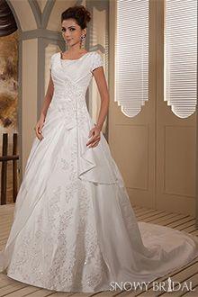 decent wedding dresses