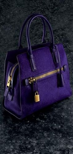 Tom Ford ♥✤ | KeepSmiling | BeStayClassy Gorgeous! Although I'd like to see more purses with silver touches instead of gold