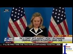 FBI's Comey Says Agency Won't Recommend Criminal charges In Clinton Email Case - Outnumbered  