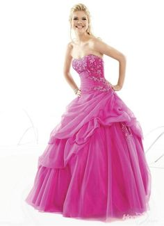 The most beautiful pink dress I've ever seen.