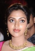amala paul in pink saree,homely look..