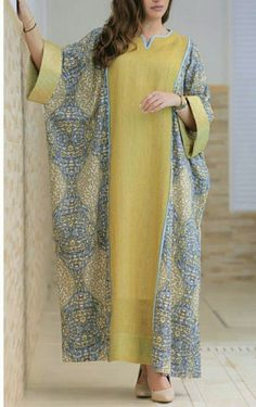 Fashion Ideas For Women Stylish Dress Designs, Designs For Dresses, Stylish Dresses, Kaftan Designs, African Attire, African Fashion Dresses, Fashion Outfits, Ladies Fashion, Fashion Ideas
