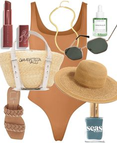 * Summer Vacay * Outfit | ShopLook Beach Day Outfits, Outfit Maker, Boho, Sexy, Summer, How To Wear, Clothes, Ideas, Fashion