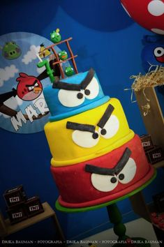 Angry Birds Birthday Party - Kara's Party Ideas - The Place for All Things Party