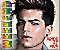 Video | Singer Adam Lambert arrives in South Beach for fifth annual Miami Beach Gay Pride celebration