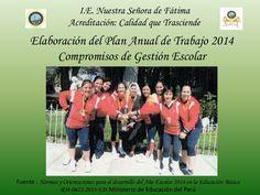 Plan Anual de Trabajo 2014 - Compromisos de Gestión Escolar by Dalwerds Manuel Berlanga Paz via slideshare