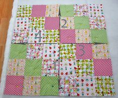 Quilting patchwork blanket – instructions on how to sew a blanket - Diy And Crafts idea Patchwork Blanket, Patchwork Quilting, Quilts, Beginner Quilt Patterns, Quilting For Beginners, Christmas Crochet Blanket, Jacob's Ladder, Diy Store, Patch Quilt