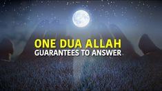 ONE DUA Allah GUARANTEES TO ANSWER - YouTube Into The Fire, Islamic Videos, Have Faith, Allah, Peace, Sayings, Youtube, Purpose, Life