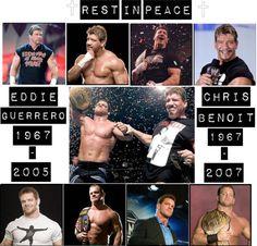 Chris Benoit and Eddie Guerrero❤