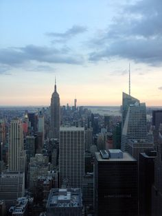 New York #topoftherock #manhattan #honeymoon