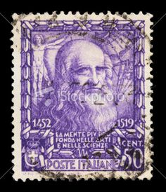 Italian postage stamps.