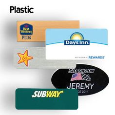 Name Badges and Name Tags | Quick Badge & Sign Inc http://www.name-badges.com/