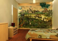 Image from http://wowbathroomideas.net/wp-content/uploads/dinosaur-wall-mural-faces-for-realistic-imaginary-89862.jpg.