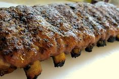 Kalofagas - Greek Food & Beyond by Peter Minakis: Postcard From Athens. Back Ribs In Oven, Oven Pork Ribs, Ribs Recipe Oven, Pork Back Ribs, Pork Spare Ribs, Ribs On Grill, Pork Chop, Greek Ribs Recipe, Greek Recipes