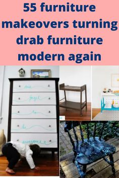 55 furniture makeovers turning drab furniture modern again