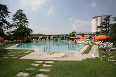 Hotel Garden Terme - Thermae Abano Montegrotto - Piscina Termale, thermal swimming pool, thermalbad, hot springs, горячие источники, термы relax & wellness!