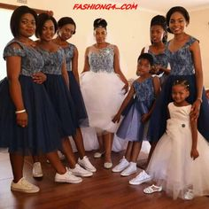 2019 wedding shweshwe dresses group fans ⋆ fashiong4 African Print Wedding Dress, African Bridesmaid Dresses, African Wedding Attire, African Attire, African Dress, Setswana Traditional Dresses, African Traditional Wedding Dress, Xhosa Attire, Shweshwe Dresses