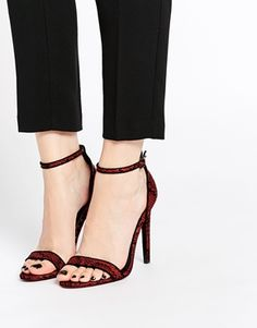 ASOS HELIUM Heeled Sandals