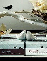 Love Bird Salt & Pepper Shakers in Gift Package