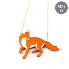 Fox Necklace - Accessories