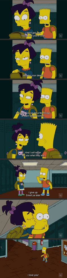 Bart joins the clueless men club…
