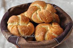 Bułeczki otrębowe Homemade Dinner Rolls, Bread Bun, Muffin, Sweets, Buns, Breakfast, Food, Morning Coffee, Homemade Bagels