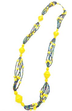 Cecilia's Specialty Necklace - in golden yellow