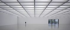 Shortlisted: Folkwang Museum, Essen, Germany by David Chipperfield Architects Pictures At An Exhibition, Element Lighting, David Chipperfield Architects, Gallery Lighting, Frank Gehry, Waiting Area, Built Environment, Recycled Glass, Blinds